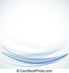 blauwe , ontzagwekkend, vector, achtergronden, abstract