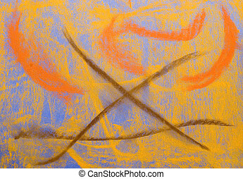 blauwe , pastel, grunge, background:, reeks