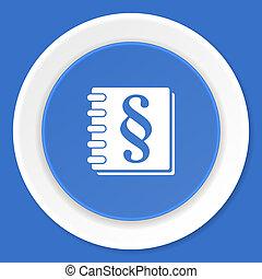 blauwe, plat,  web, moderne, Ontwerp, Wet, pictogram
