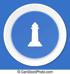 blauwe, plat,  web, moderne, Ontwerp, schaakspel, pictogram