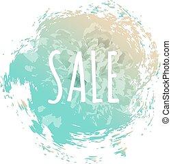 blauwe , poster, verkoop