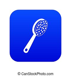blauwe , puimsteen, pictogram, digitale