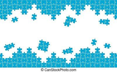 blauwe , raadsel, achtergrond, eindeloos