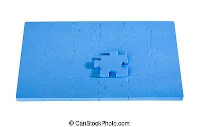 blauwe , raadsel