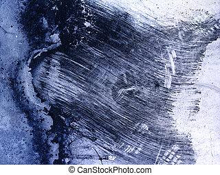 blauwe , ruwe textuur, achtergrond
