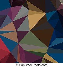 blauwe , saffier, abstract, laag, achtergrond, veelhoek