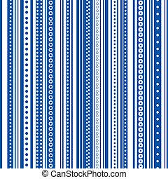 blauwe , &, seamless, helder, streep, witte