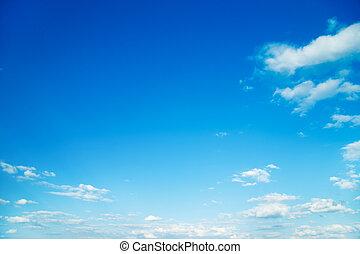 blauwe , sky.