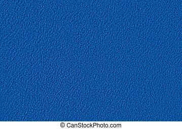 blauwe stof, textuur, velour