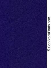 blauwe stof, vilt, -, textuur, marine