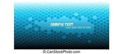 blauwe , technisch, abstract, achtergrond