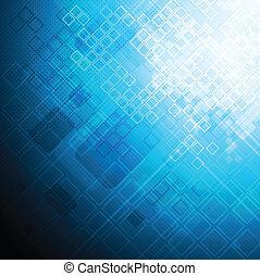 blauwe , technisch, ontwerp