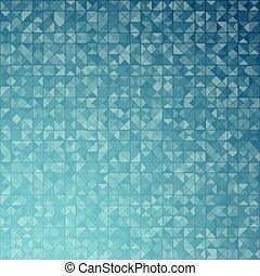 blauwe , technologie, pattern., driehoeken