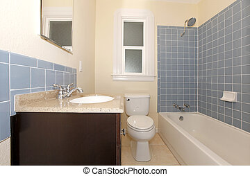 Wandtegels Badkamer Blauw : Blauwe tegels badkamer blauw water tegels druppels