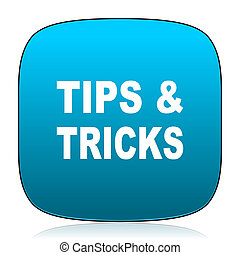 blauwe , tips, trucs, pictogram