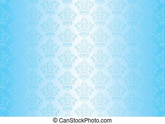 blauwe , vector, behang