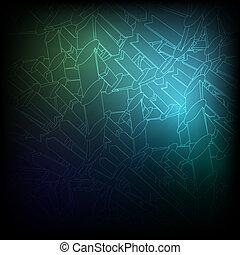 blauwe , vector, eps10, texture., achtergrond