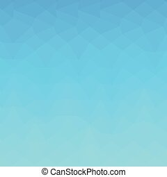 blauwe , veelhoek, abstract, hemel, laag, achtergrond