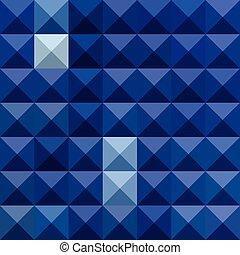 blauwe , veelhoek, abstract, kobalt, laag, achtergrond