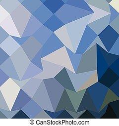 blauwe , veelhoek, abstract, laag, achtergrond, carolina