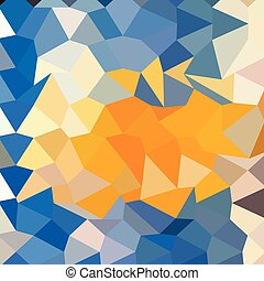 blauwe , veelhoek, abstract, laag, achtergrond, hemelsblauw