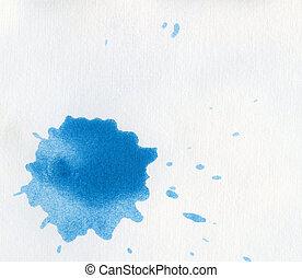 blauwe , vlek