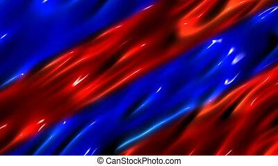 blauwe , vloeistof, achtergrond, rood