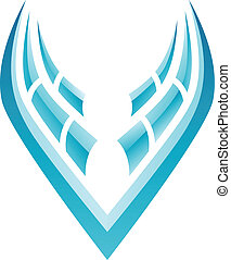 blauwe vogel, pictogram