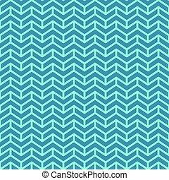 blauwe , web, pattern., seamless, motieven, chevron, geometrisch, design.