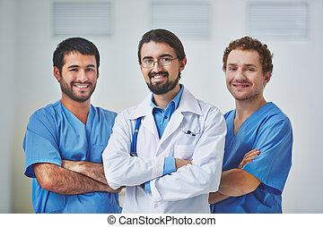 blauwe , werkmannen , kraag