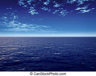 blauwe , zee
