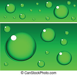 blauwgroen, spandoek, achtergrond
