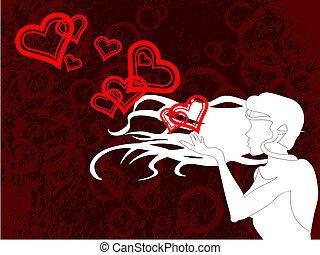 blazende kus