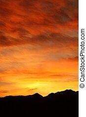 Blazing Sunset