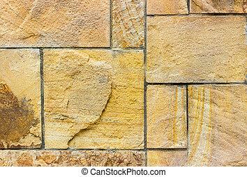 blbeček, solidní, sandstone., hladký, material., vynořit se, grafické pozadí, ne, chlupatý, nakládat, stone.