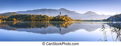 Bled in Slovenia, Europe - Amazing View in autumn : Bled ...