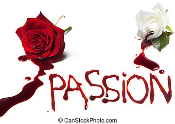 Bleeding roses for Passion - Bleeding roses and the bloody...