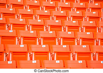 bleicher, schritte, rotes , stadion setzt