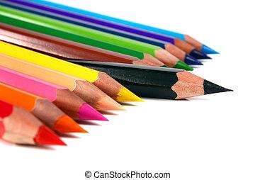 bleistifte, buntstifte, farbig