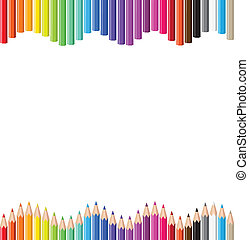 bleistifte, farbig