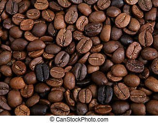 Blend of roasted coffee beans
