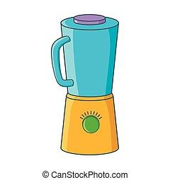 Blender icon, cartoon style
