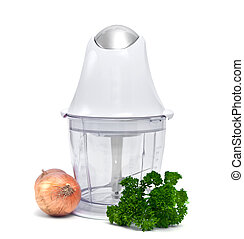 Blender isolated on a white background.