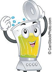 Blender Mascot - Mascot Illustration Featuring a Blender ...