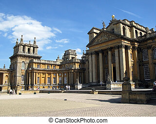 Blenheim Palace was a gift from Queen Anne to John Churchill, the first Duke of Marlborough, for his victory at the Battle of Blenheim in 1704.