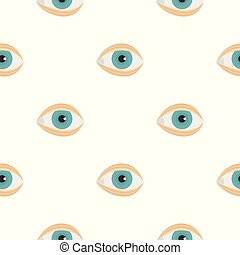 Blepharoplasty pattern seamless