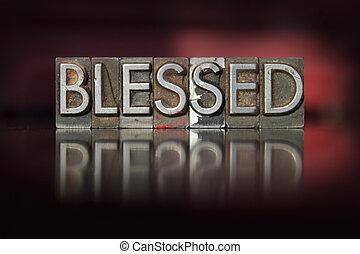 Blessed Letterpress