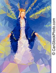 Blessed Virgin Mary Queen