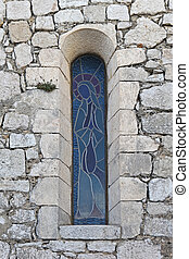 Blessed Virgin window