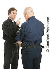 blesses, 司祭, 警官